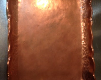 Original Chilean Copper Tray