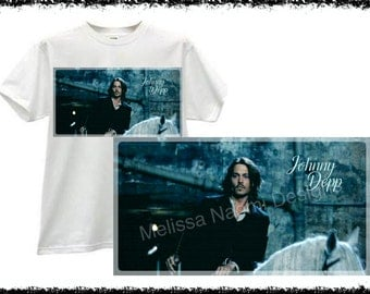 Johnny Depp Shirt, 100% Cotton Shirt, Original Design, Actor Johnny Depp T-Shirt