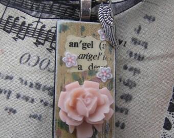 Angel Necklace OOAK
