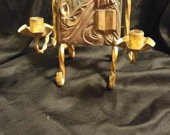 Religious Icon Candle Holder