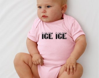 ICE ICE baby. Baby onesie.Infant bodysuit.