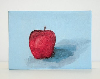 Gallery Wall, Modern Art, Gallery Wall Art, Original Painting, Fruit Painting, Kitchen Decor