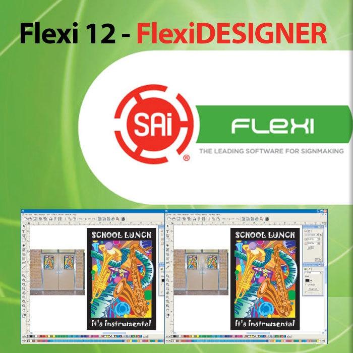 Flexi 12 Flexidesigner Print And Sign Making Software