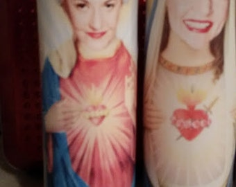 Dorothy of Golden Girls Saint Candle-Prayer Candle Golden Girls, Bea Arthur