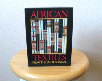 80s AFRICAN TEXTILES from the SMITHSONIAN, Note Card, Greeting Card Set
