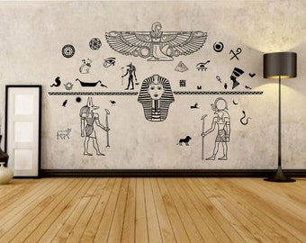 Ancient Egypt Decals   Egyptian Art Wall Decal   Gods Of Ancient Egypt    Wall Decal Part 83