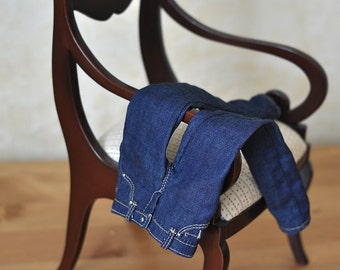 1/4 fashion doll jeans: Tonner Tyler size