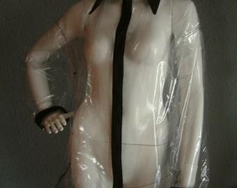 TRANSPARENT PVC SHIRT