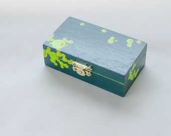 Treasury box. Crazy box. Jewelery box. Giftbox.