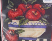 Bowl of Apples - Needle Point and Counted Cross Stitch Kit