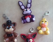 Five Nights at Freddy's plush charms