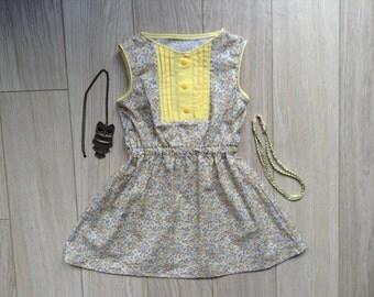 Flower dress for summer, size 5/6, 5-6 years, little girl