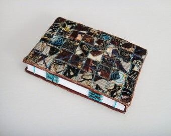 Original Hand-bound Book with Woven Embroidery Covers