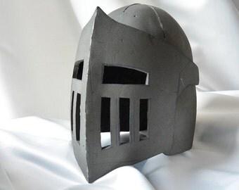 Knight Helmet Template for EVA foam - version B