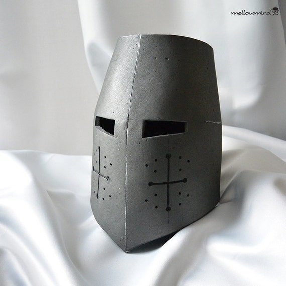 knight helmet template for eva foam version by mellowmindcosplay. Black Bedroom Furniture Sets. Home Design Ideas