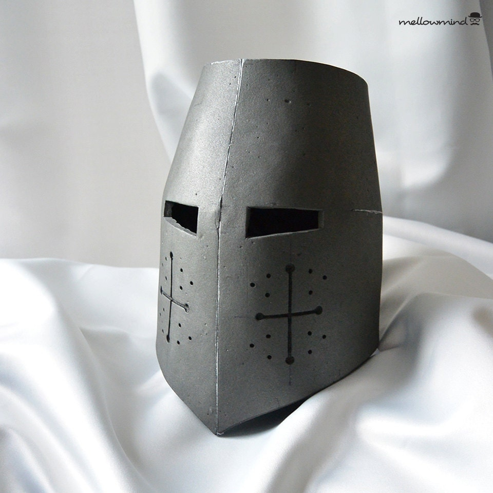 image gallery knight helmet paper template With paper knight helmet template