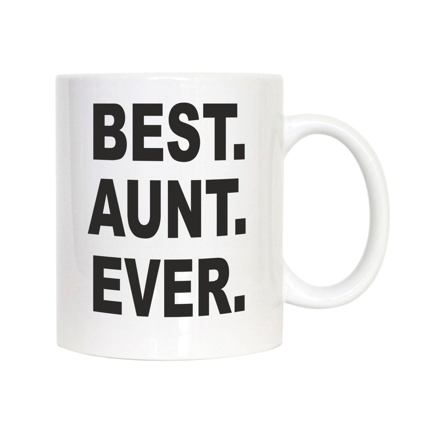 Best Aunt Ever Coffee Mug Aunt Mug Aunt Gift By