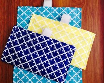 Eco / Green Snackbags - set of 3