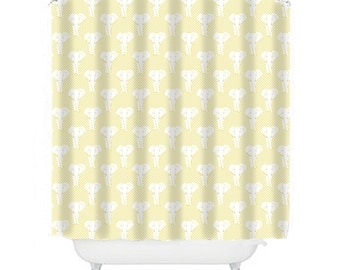 pink and yellow shower curtain. yellow shower curtain elephant kids extra long  pink bathroom decor