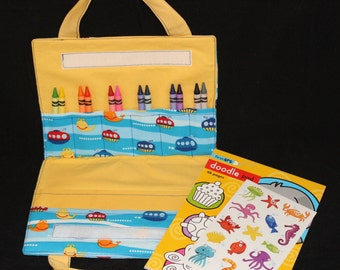 Carry Me Art Folio - Submarines (yellow)