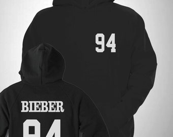 Bieber 94 Varsity Hooded Sweatshirt College Hoody