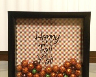 Fall holiday frame