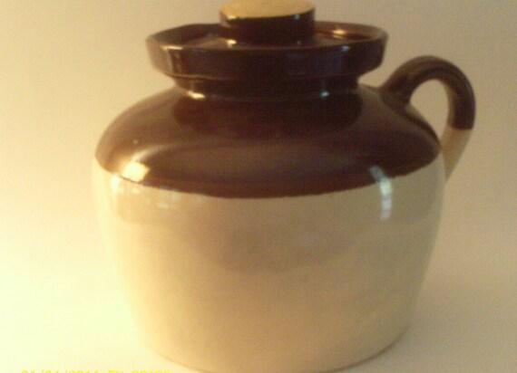 Large Roseville R R P Co Pottery Jug Bean Pot