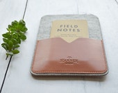 Handmade iPad 2,3,4 Leather Sleeve case and wool felt Cover