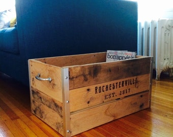 Rochesterville Vintage Crate