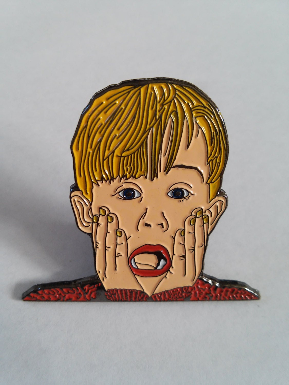 The Screaming Boy Lapel Pin