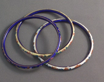 Cloisonne Bracelets Chinese Bangles