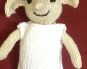 Knitting Pattern For Dobby The House Elf : dobby doll   Etsy