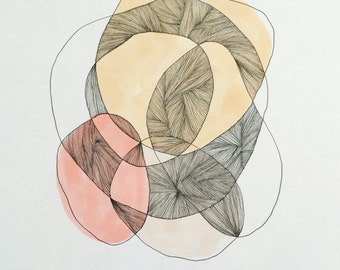 Abstract Circles - Illustration