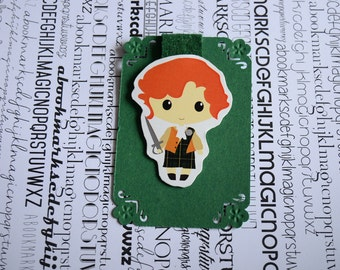 Outlander Jamie Fraser magnetic bookmark
