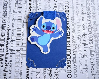 Stitch magnetic bookmark