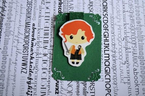 Outlander Jamie Fraser magnetic bookmark