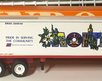 Winross Burlington Northern Montreal Truck