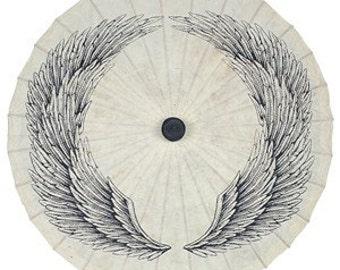 Wings Paper Parasol