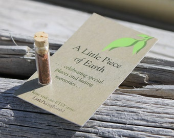 Utah, Soil, Earth, Dirt, Souvenir, Gift, Memento, Travel, Glass Vial, Memories, Special Places