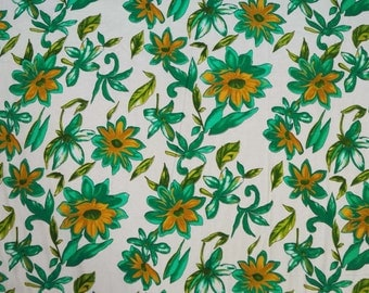"Beautiful Floral Print Sewing Fabric 42"" Wide Designer Upholstery Supplies Craft Supplies Indian Craft Pure Cotton Fabric By 1 Yard  ZBC6310"