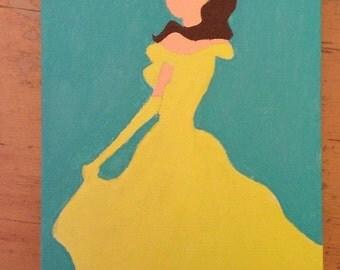 Belle Canvas Art