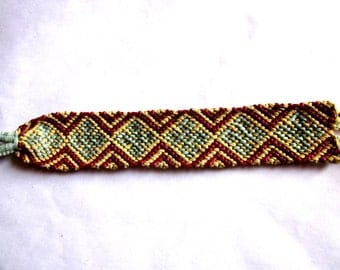 Stars and Diamonds Woven Friendship Bracelet