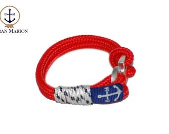 Sailors Nautical Rope Bracelet, Handmade bracelet; Women bracelet, Bracelet Gift, Personalized bracelet, Knot Bracelet. Free Shipping