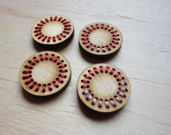 Decorative magnets - set of 4