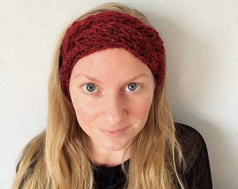 Braided headband / Cowl / Knitted Scarf / Winter Accessory