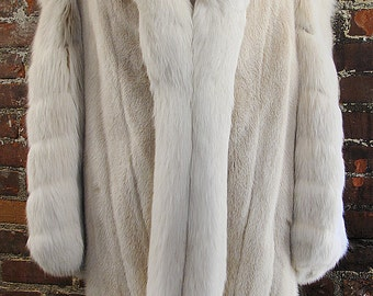 Mink & Fox Mid Length Coat