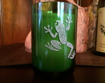 Frog Love Candle