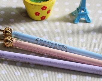 Set of 3 - Mini Crown Ballpoint Pens