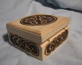 Celtic Wooden Box