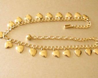 A Necklace of Trifari Hearts